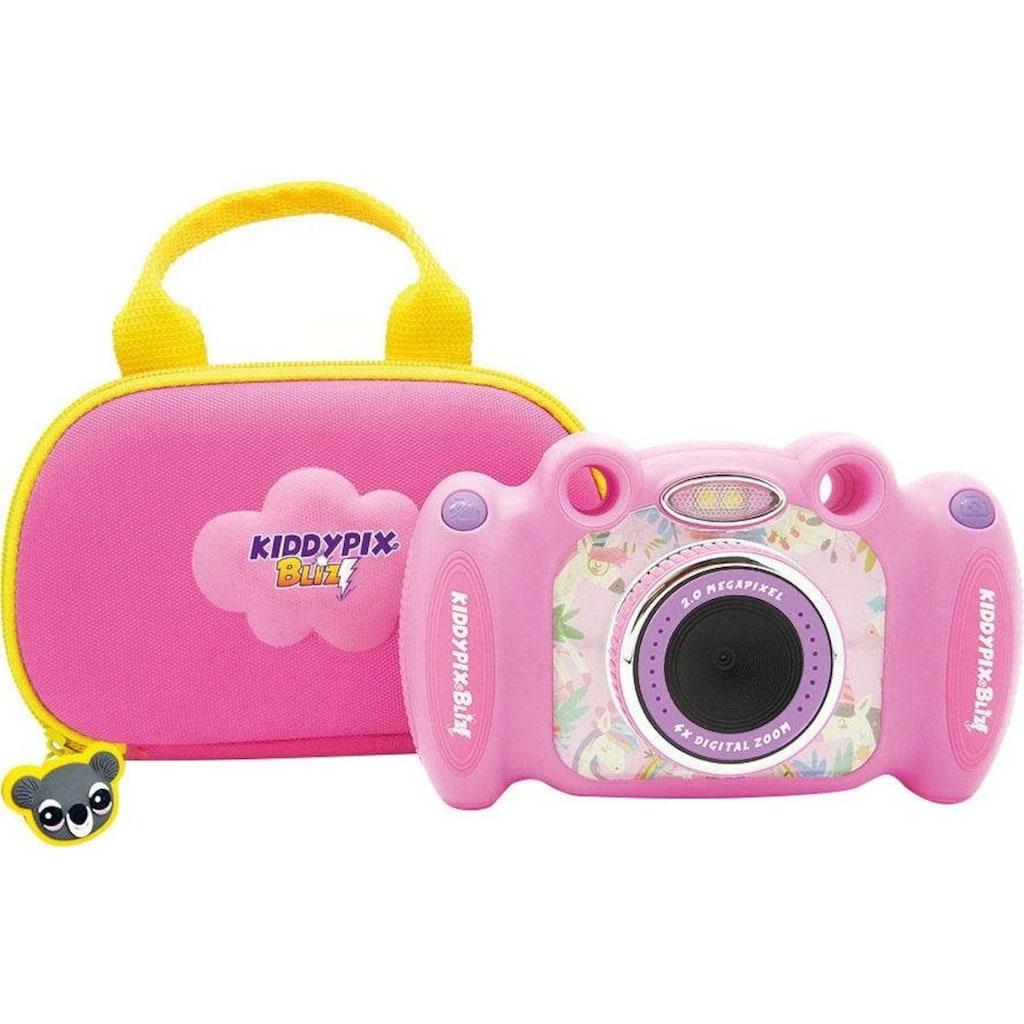 Easypix Kinderkamera »Kiddypix Blizz Pink«, vordere Linse für Fotos und Videos, hintere Linse für Selfies