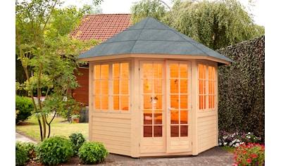 Wolff Holzpavillon »Palma«, BxT: 347x347 cm, mit Fußboden kaufen
