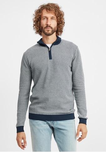 Solid Troyer »Duncan«, Strick Pullover Troyer Feinstrick mit Stehkragen kaufen