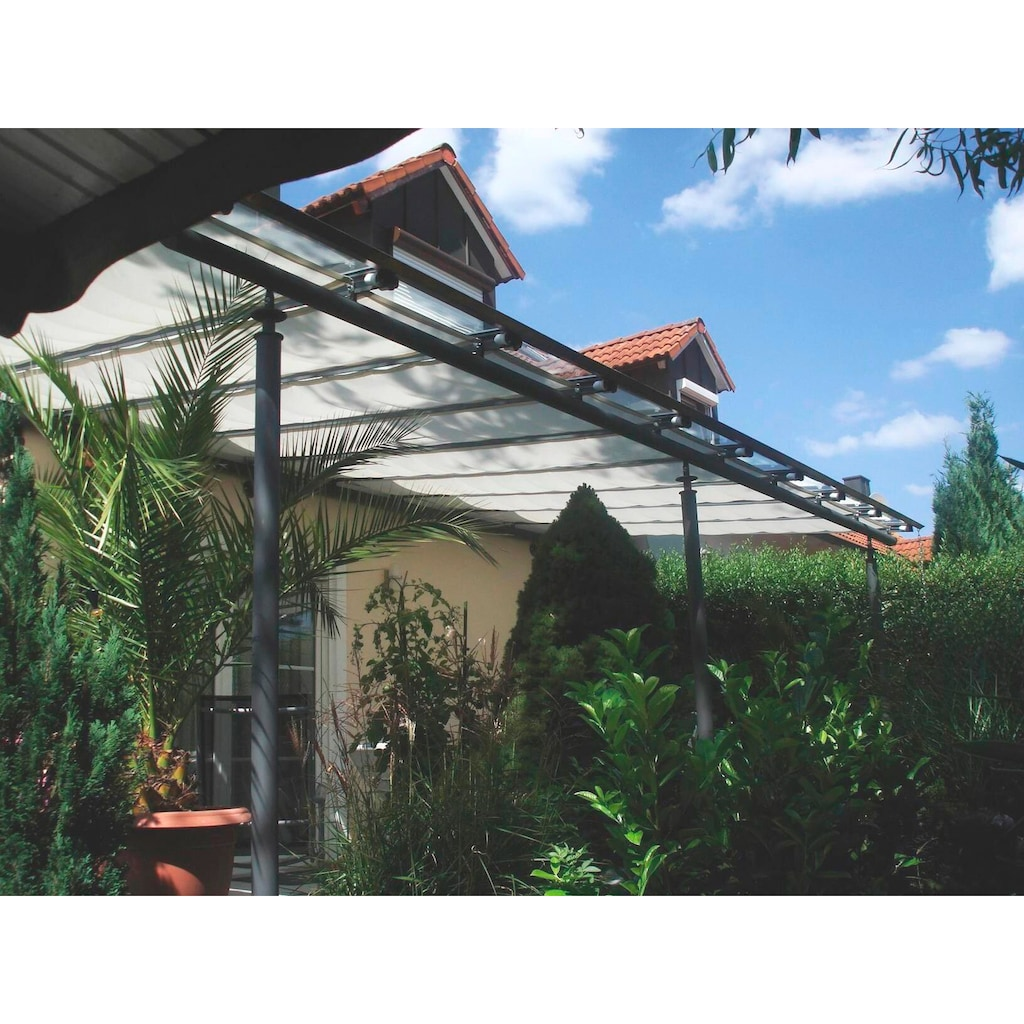 Floracord Sonnensegel »Innenbeschattung«, B: 460 cm, anthrazit