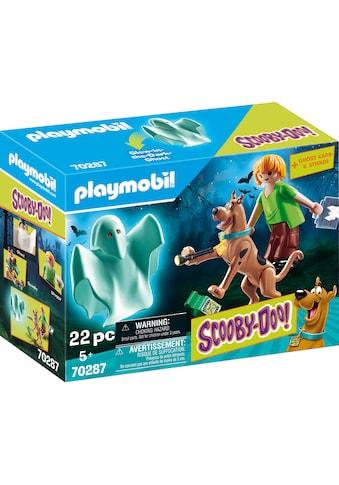 """Playmobil® Konstruktions - Spielset """"SCOOBY - DOO! Scooby & Shaggy mit Geist (70287), SCOOBY - DOO!"""", Kunststoff kaufen"""