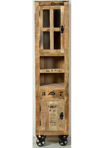 SIT Vitrine »Rustic«, 2-türig, im Factory design, Höhe 190 cm, Shabby Chic, Vintage kaufen