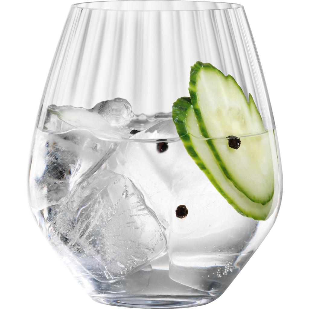 SPIEGELAU Cocktailglas »Life Style«, (Set, 4 tlg.), Gin Tonic, 625 ml, 4-teilig
