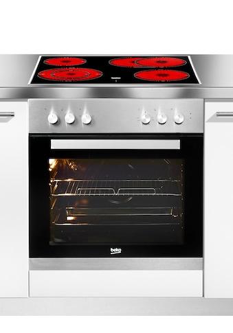 BEKO Elektro-Herd-Set »BUM22320X1«, BUM22320X1, Simple Steam Reinigungsfunktion,... kaufen
