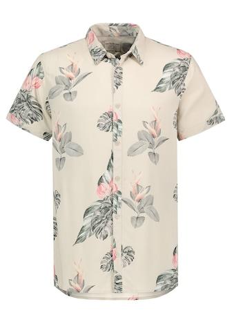 Eight2Nine Kurzarmhemd, mit Palmenblätterprint kaufen