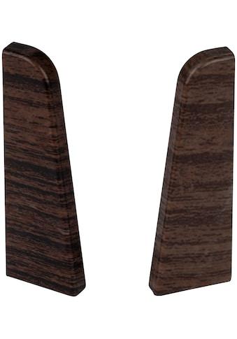 EGGER Endstücke »Eiche dunkelbraun«, für 6 cm Sockelleiste kaufen