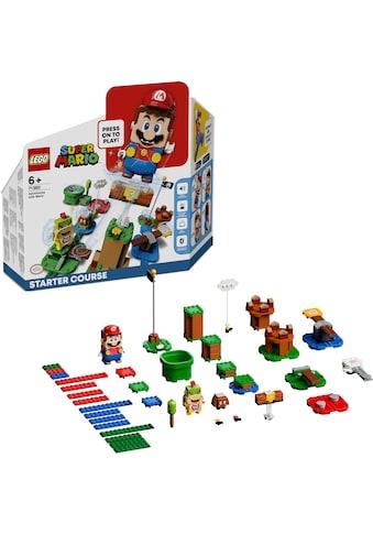 LEGO® Konstruktionsspielsteine »Abenteuer mit Mario – Starterset (71360), LEGO® Super... kaufen