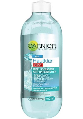 GARNIER Gesichtswasser »Hautklar 3in1 Mizellenwasser« kaufen