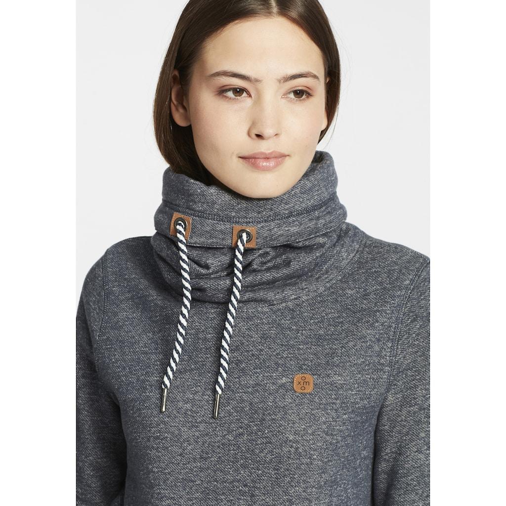 OXMO Hoodie »Cecilia«, Pullover mit Tube-Kragen