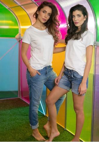 Please Jeans Boyfriend-Jeans »P85A«, lässige Jeans Hose mit Crinkle-Effekt und... kaufen