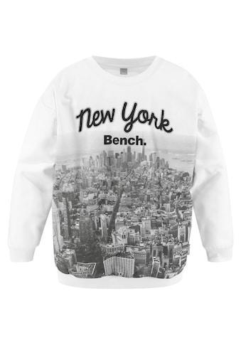 Bench. Sweatshirt, in sehr weiter Form kaufen