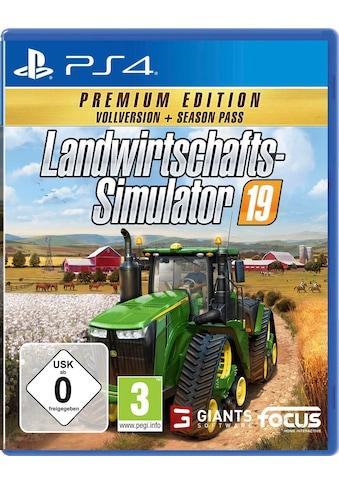 Astragon Spiel »Landwirtschafts-Simulator 19: Premium Edition«, PlayStation 4 kaufen