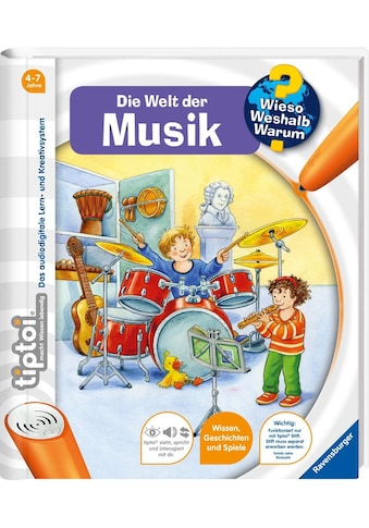 Ravensburger Buch »tiptoi®, WWW - Welt der Musik«, Made in Europe kaufen