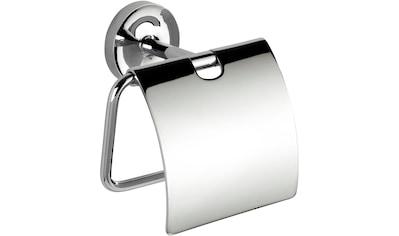 WENKO Toilettenpapierhalter »Arcole«, mit Deckel, Power - Loc kaufen