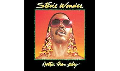 Musik-CD »HOTTER THAN JULY / WONDER,STEVIE« kaufen