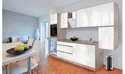 Küchenzeile »Boston«, mit E - Geräten, Breite 320 cm kaufen