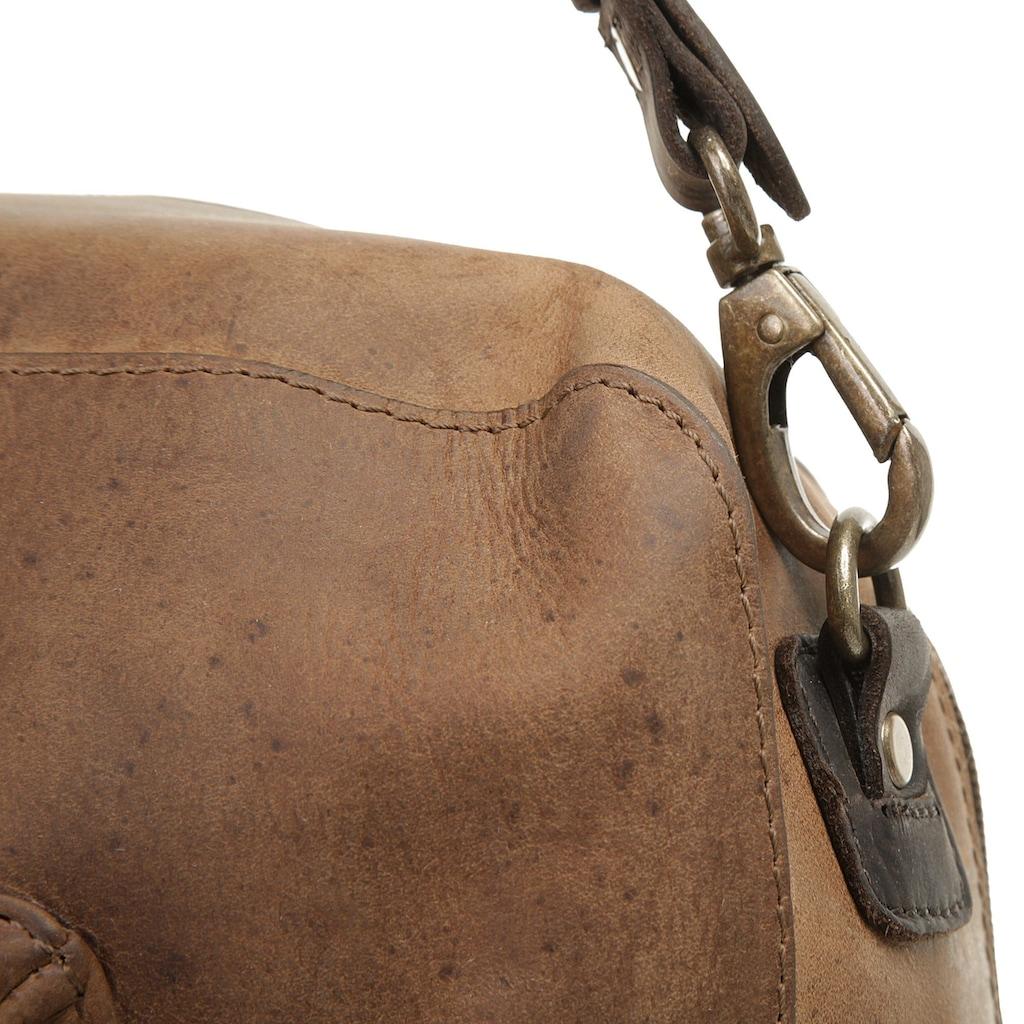 Harold's Reisetasche, vegetabil gegerbt