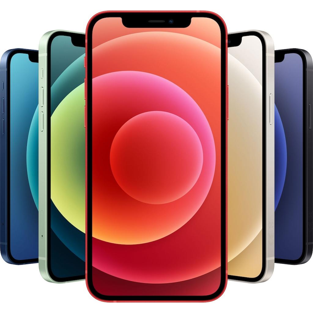"""Apple Smartphone »iPhone 12«, (15,5 cm/6,1 """", 64 GB Speicherplatz, 12 MP Kamera), ohne Strom Adapter und Kopfhörer, kompatibel mit AirPods, AirPods Pro, Earpods Kopfhörer"""