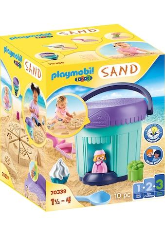 Playmobil® Konstruktions-Spielset »Kreativset Sandbäckerei (70339), Playmobil 123 -... kaufen