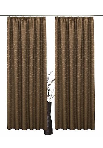 Vorhang, »Serena«, VHG, Kräuselband 2 Stück kaufen