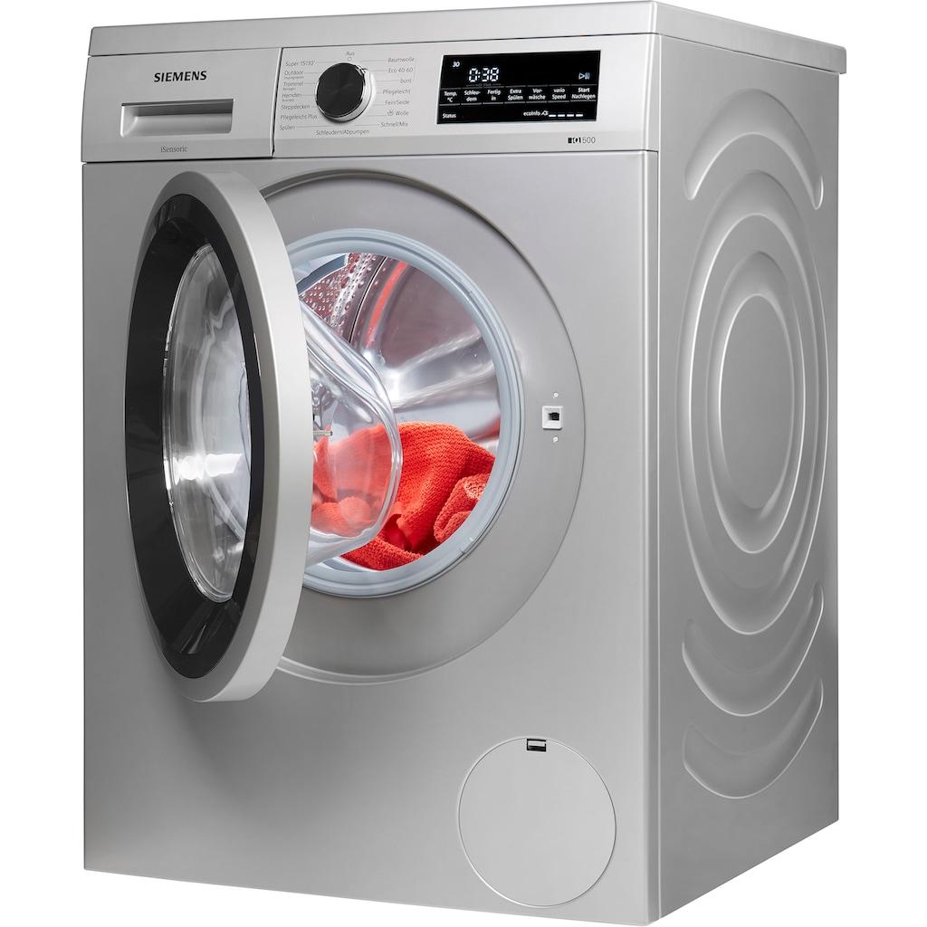 SIEMENS Waschmaschine »WU14UTS0«, iQ500, WU14UTS0, 9 kg, 1400 U/min