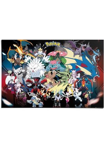 Reinders! Poster »Poster Pokemon«, Comic, (1 St.) kaufen