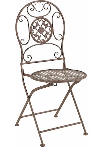 locker Klappstuhl, aus Metall kaufen