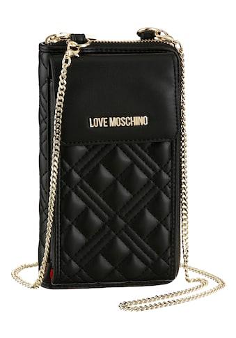 LOVE MOSCHINO Geldbörse, mit Handyfach und Umhängekette kaufen