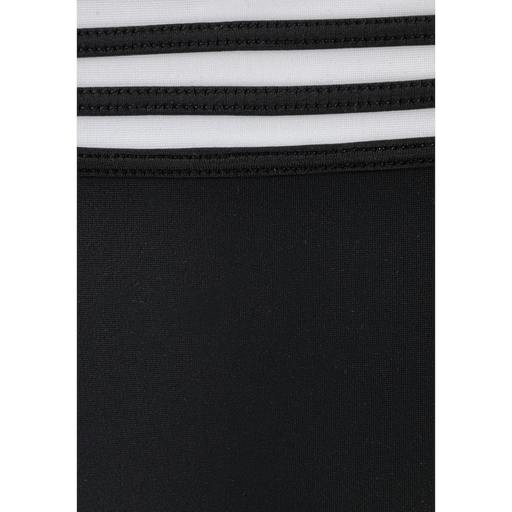 LASCANA Bügel-Bandeau-Bikini, im eleganten Streifen-Design