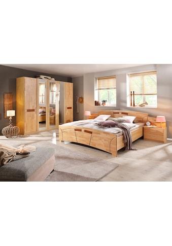 rauch BLACK Schlafzimmer-Set »Sarah«, (Set, 4 St.), mit Bett 180/200 und 5-oder 6-trg.... kaufen