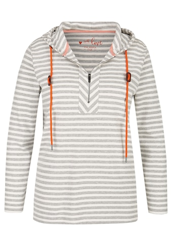 VIA APPIA DUE Sweatshirt, mit kontrastfarbigen Bändern kaufen