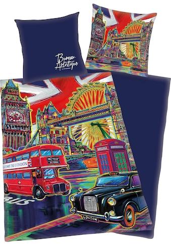Jugendbettwäsche »London«, mit London Motiv kaufen