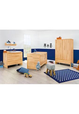 Pinolino® Babyzimmer-Komplettset »Fagus«, (Set, 3 St.), breit; mit Kinderbett, Schrank... kaufen