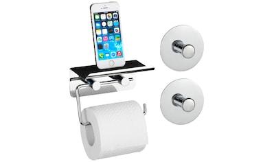 WENKO Set: Toilettenpapierhalter kaufen