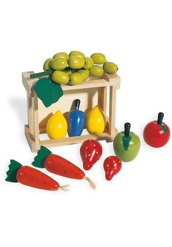 Pinolino® Kaufladensortiment »Kiste mit Gemüse« kaufen