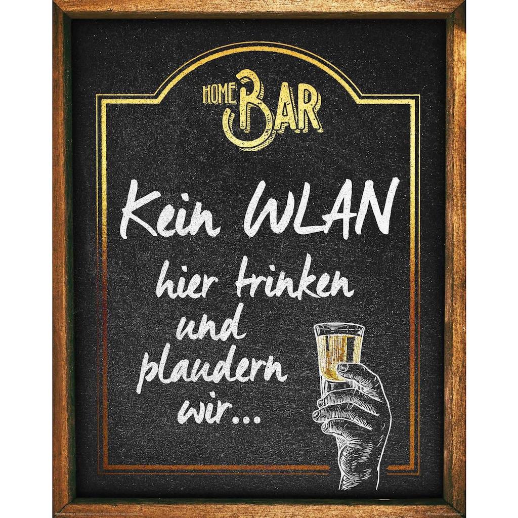 Home affaire Deco-Panel »Kein WLAN«, 40/50 cm