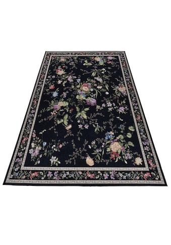 THEKO Teppich »Flomi Sagrini«, rechteckig, 3 mm Höhe, Flachgewebe, Pastell-Farben, Wohnzimmer kaufen