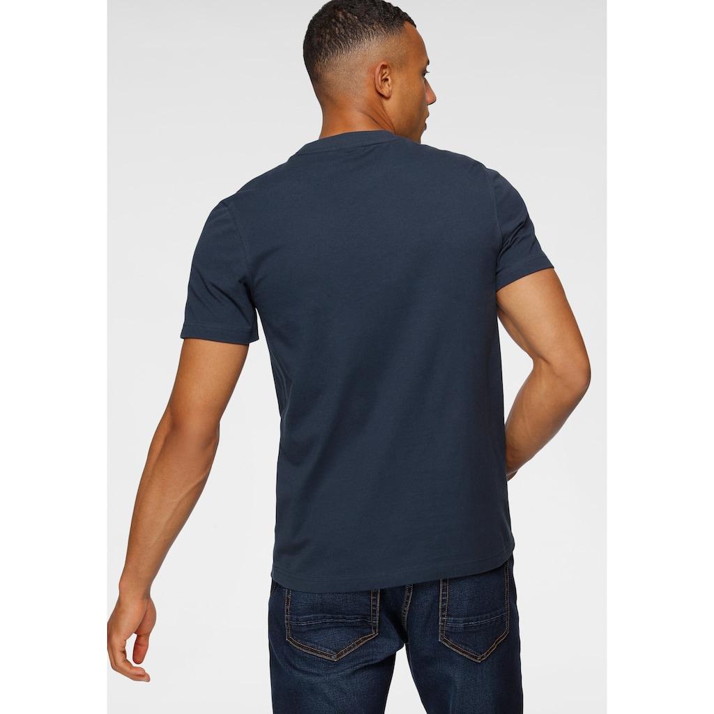H.I.S Rundhalsshirt, mit Markenprint