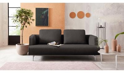 hülsta sofa 3,5-Sitzer »hs.440«, wahlweise in Stoff oder Leder, Gussfüße poliert kaufen