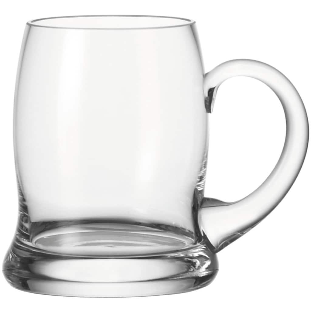 LEONARDO Bierglas »Brauhaus Bar«, (Set, 6 tlg.), 500 ml, 6-teilig