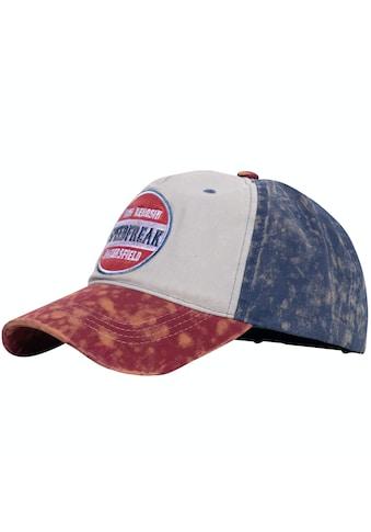 KingKerosin Baseball Cap »Speedfreak«, mit Destroyed-Effekten und Enzymwash kaufen