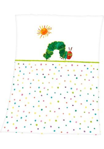 Babydecke »Die kleine Raupe Nimmersatt«, kaufen