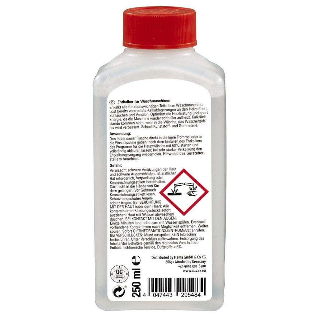 Xavax Waschmaschinen Entkalker, 250 ml, Maschinenpfleger Reiniger