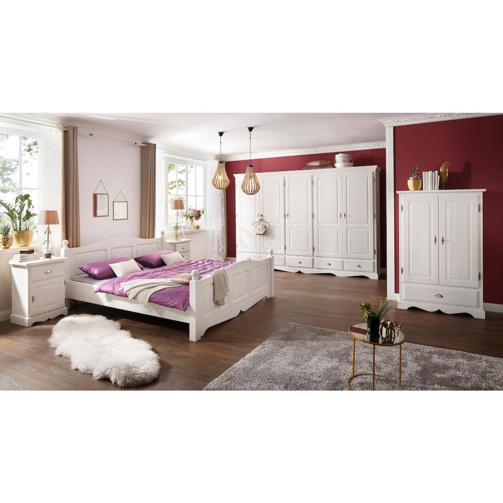 Home affaire Nachtkonsole »Teo«, mit einer Tür und einer Schublade, Breite 50 cm