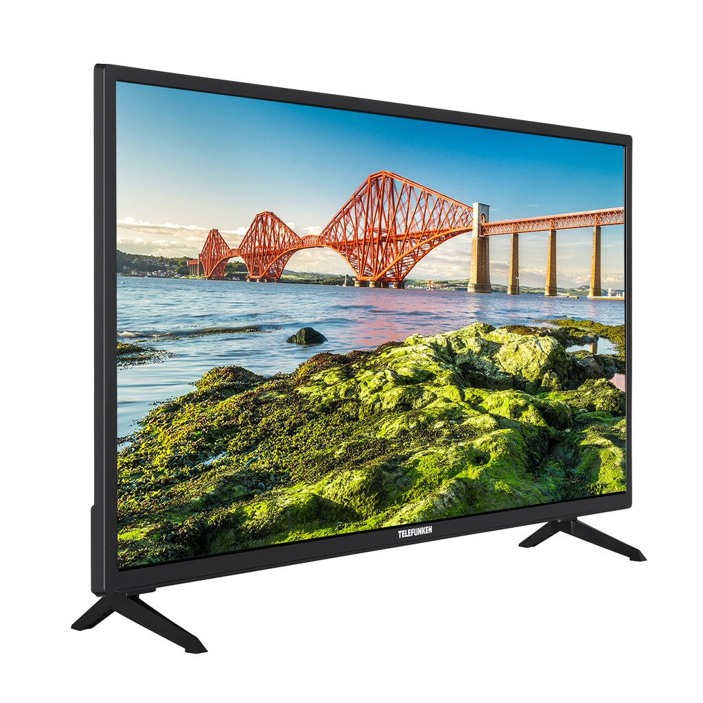 "Telefunken LED-Fernseher »XH24J501V«, 60 cm/24 "", HD-ready, Smart-TV, (24 Zoll, HD ready, Smart TV, Triple-Tuner)"