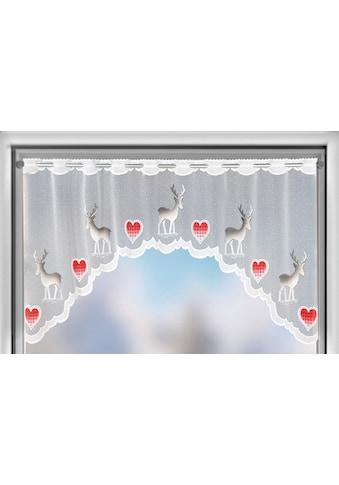 WILLKOMMEN ZUHAUSE by ALBANI GROUP Panneaux »Rentier«, Jacquard-Bogenpanneaux,... kaufen