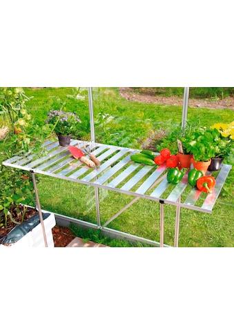 VITAVIA Sparset: Tisch - /Regal - Set für Gewächshäuser, aluminumfarben kaufen