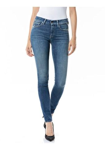 Replay Skinny-fit-Jeans »NEW LUZ«, mit coolen Abriebstellen kaufen