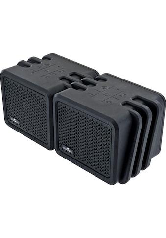 Schwaiger Bluetooth Lautsprecher wasserdicht, Outdoor Twin Speaker kaufen