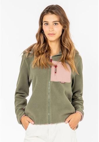 SUBLEVEL Fleecejacke, mit Brusttasche kaufen